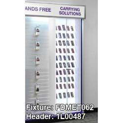 "Purple Graphic for FDMET062 Glass Showcase - 28.75"" x 9.375"""