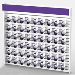 """Purple Graphic for Milford 8' Wall - 93.5"""" x 9.25"""" (45FRONM8WALLHDR)"""
