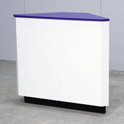 Reverse Corner Cabinet
