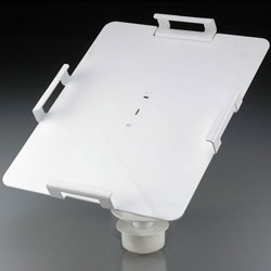 LOCKING Column TabletVAULT for Flat Surfaces (Threaded  Base)