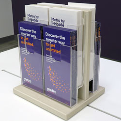 Double-Sided Brochure Holder